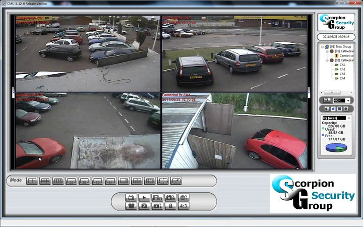 Personal Computer CCTV Remote Viewing - Scorpion Group Security CCTV Gloucester